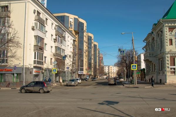 Площадь участка в Самарском районе, которого коснется реновация, составит4,428 га