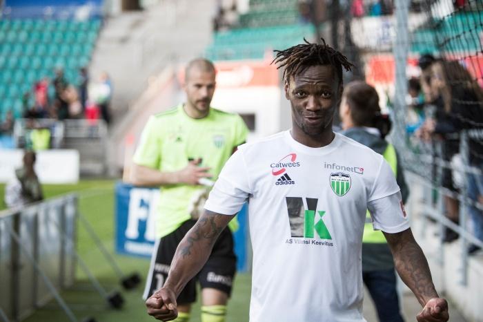 В минувшем сезоне эстонской Премиум-лиги Биала забил семь голов