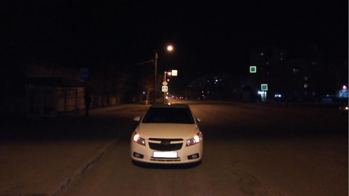 В Кургане на пешеходном переходе Chevrolet сбил пожилую женщину
