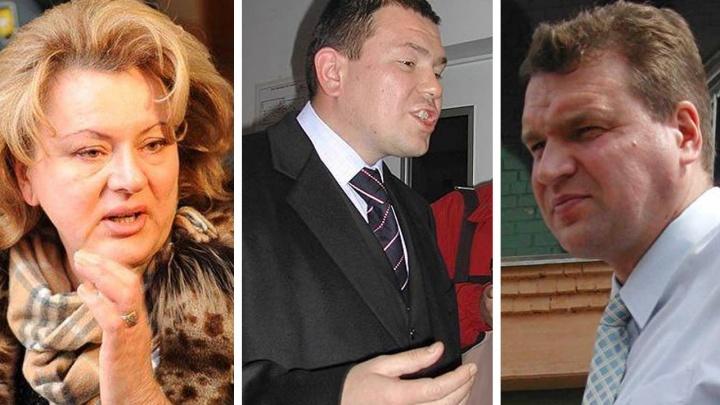Жена Контеева, отец депутатов Вихаревых, киллер для Росселя и ещё 12 уральцев, которых ищет Интерпол