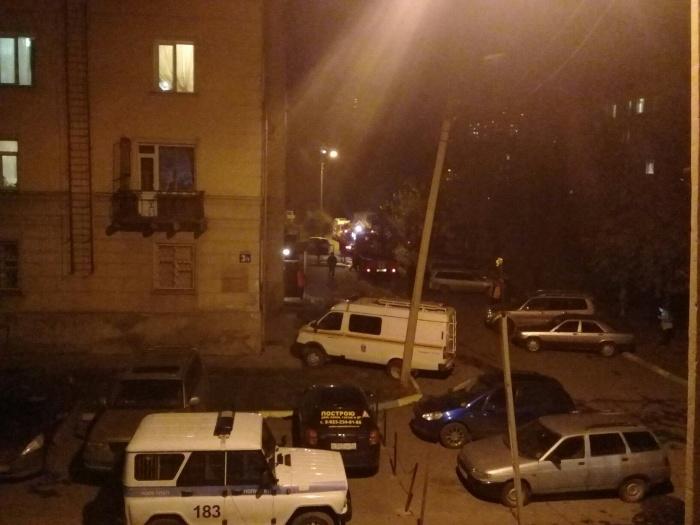 На улице Котовского, 3/1 загорелась комната в коммунальной квартире