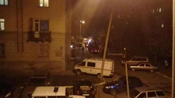 Соседи вынесли виновника пожара из горящей квартиры на улице Котовского