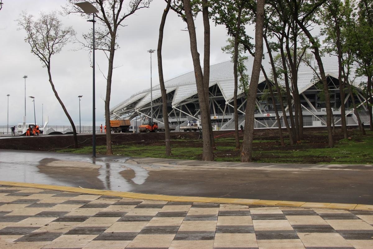 Стадион перейдет в собственность региона в начале следующего года