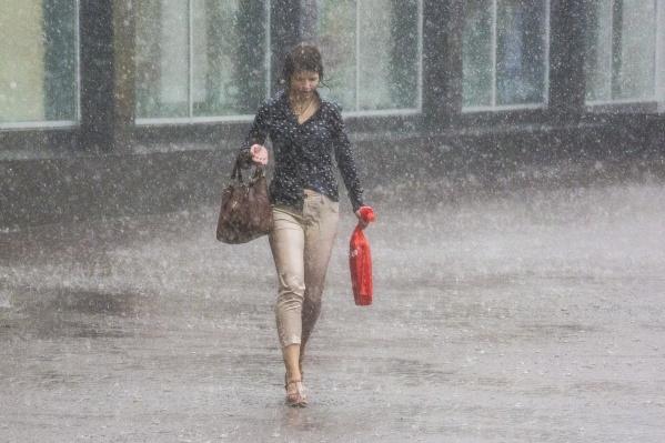 Пока июльская погода не балует новосибирцев жаркими днями