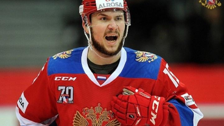Нападающий «Автомобилиста» Анатолий Голышев забил решающую шайбу в матче «Еврочелленджа»