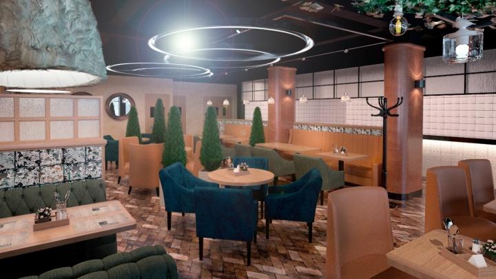 На месте бара «Юность» откроют двухэтажный грузинский ресторан