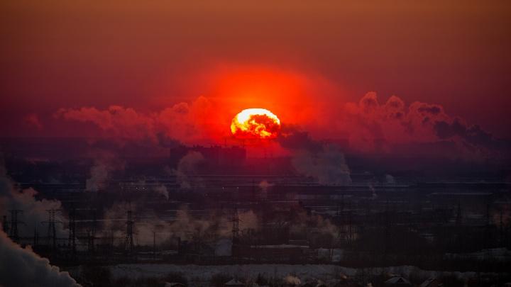 К Новосибирску приближается магнитная буря — на Солнце была вспышка