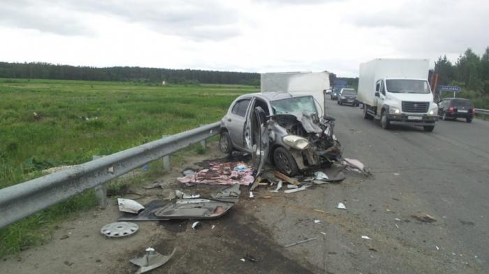 В машину женщины врезался водитель«газели», который уснул за рулем