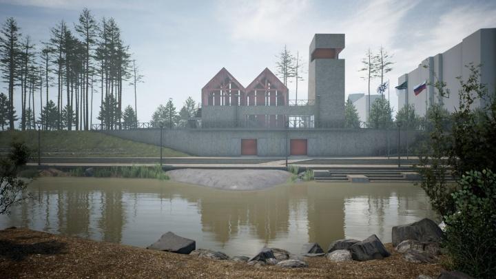 Фантастическая Иня: архитекторы нарисовали новый парк в Первомайке (он похож на Скандинавию)