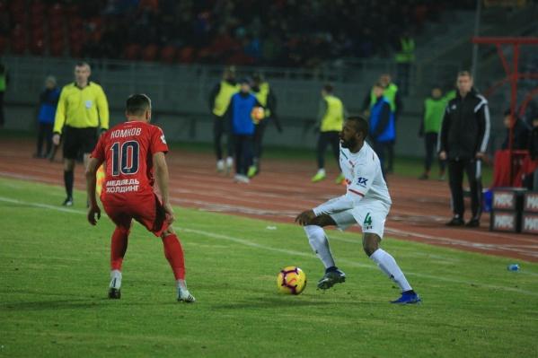 «Енисей» проиграл москвичам в домашнем матче