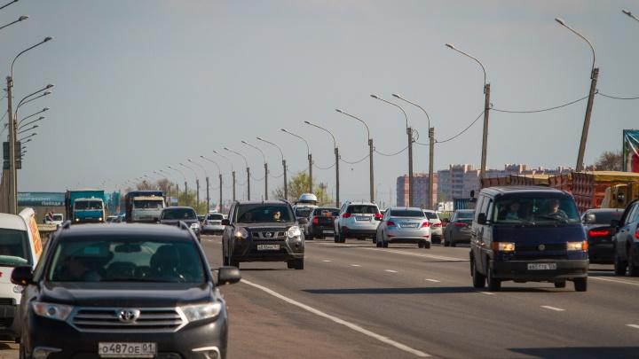 На левом берегу в Ростове ограничат движение из-за футбольных матчей