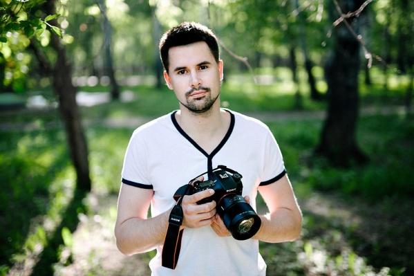 Антон Уницын отправил на конкурс 4 серии снимков