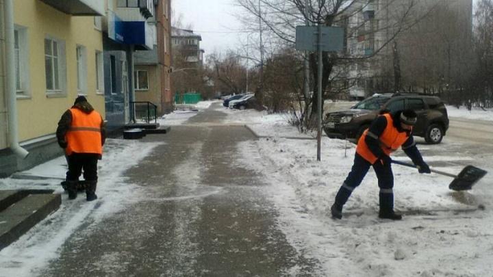 С улиц Кургана вывезли 400 тонн снега