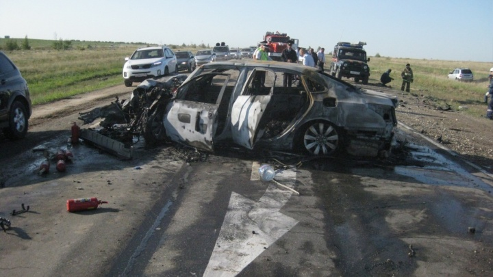 В тройном ДТП на трассе в Волгоградской области пострадали три ребёнка