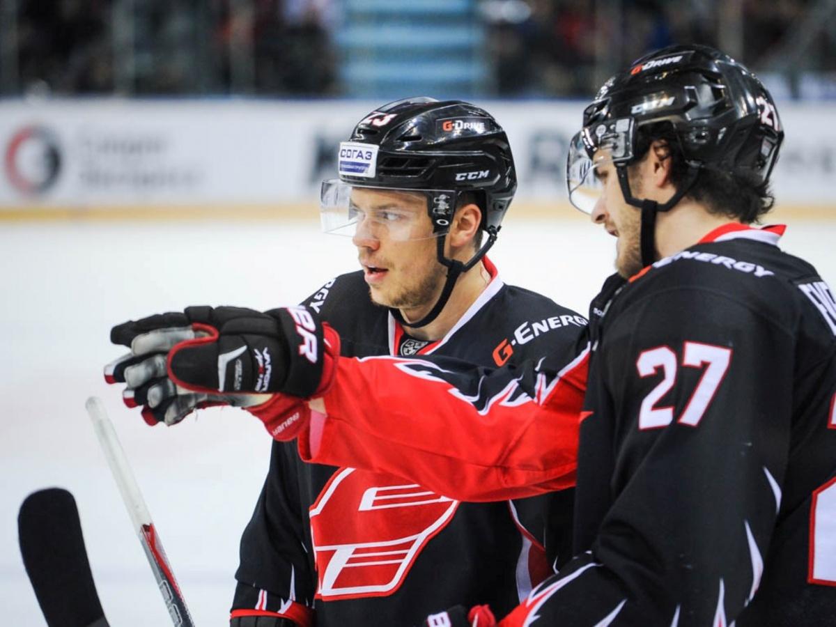 «Авангард» отыгрался на«Словане» за 4 поражения подряд