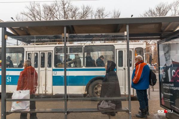 Троллейбус будет следовать от клуба «Мир» до СЗКС
