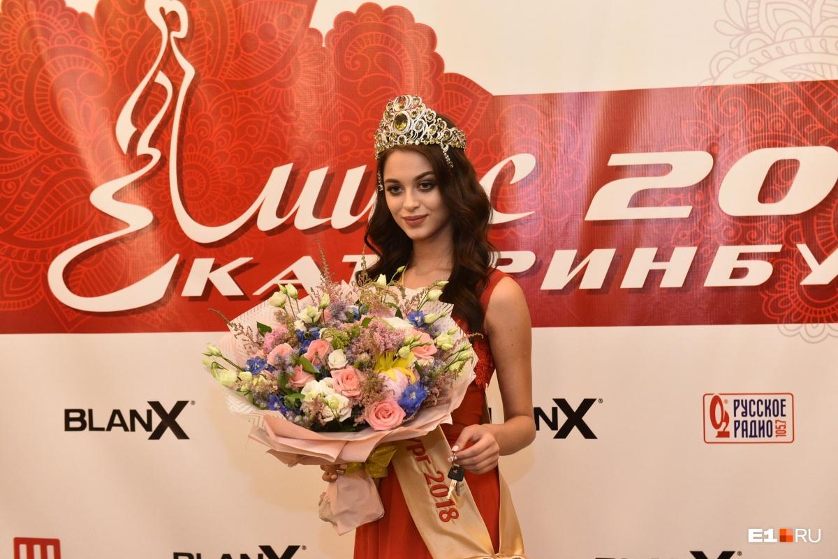 Главная красавица Екатеринбурга родом из Краснотурьинска