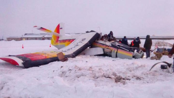 В Нарьян-Маре потерпел крушение Ан-2: самолёт модернизировали в Новосибирске