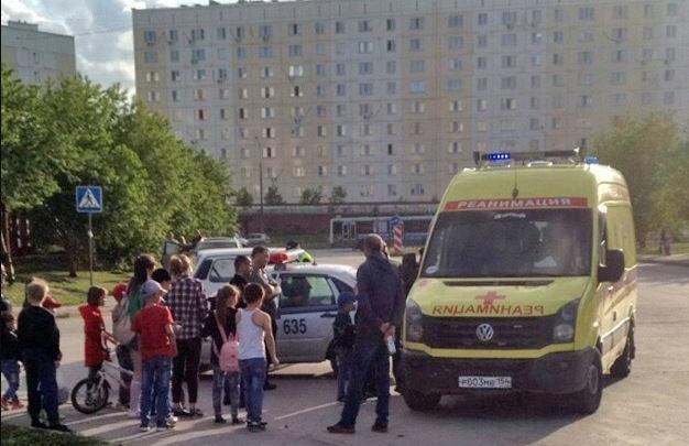 Иномарка сбила ребенка на велосипеде в Октябрьском районе