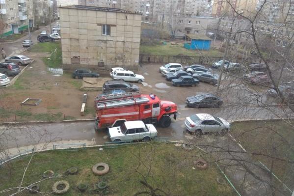 Спасатели приехали тушить детский сад