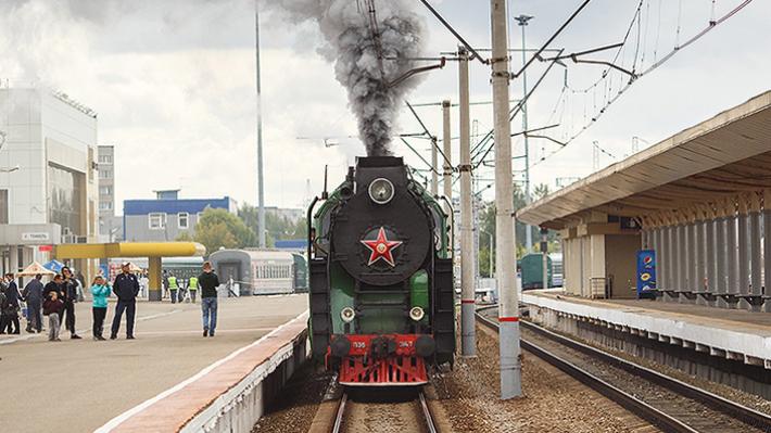 «На рельсах с 1955 года»: по Архангельской области проедет старинный паровоз и вагон-музей