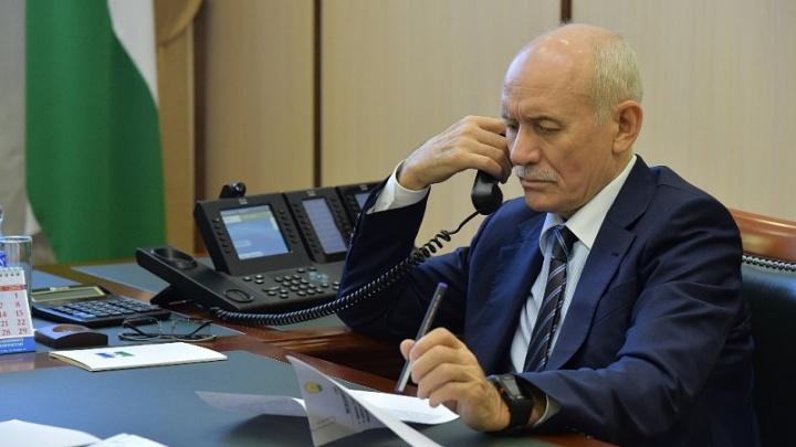 Рустэм Хамитов лично встретился с жителями Башкирии