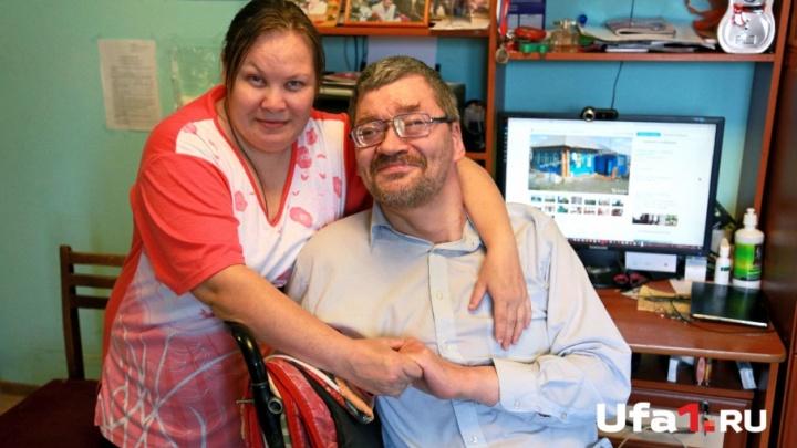 49-летний инвалид-бизнесмен из Уфы заработал на дом и помогает маме