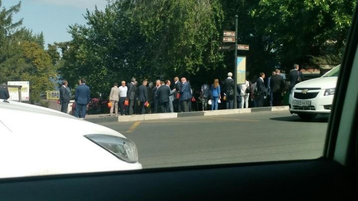 В Самаре по тревоге вывели на улицу сотрудников «Роснефти»