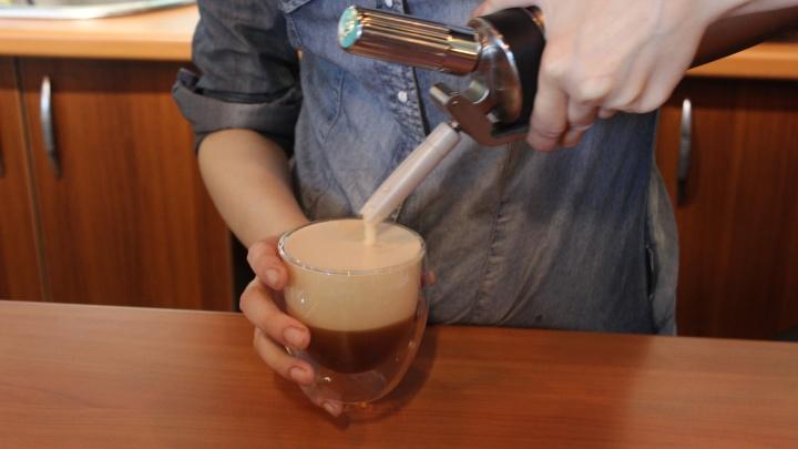 Около «Студенческой» начали наливать кофе и чай с азотом