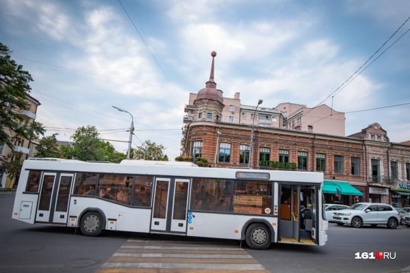 В Ростове с понедельника начнет работать новый автобусный маршрут
