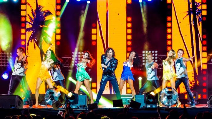 Фестиваль «Легенды Ретро FM» впервые прошел в Екатеринбурге