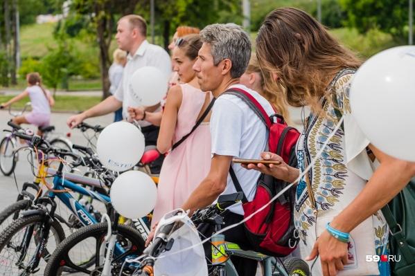 Пермяки не смогут теперь появиться на набережной Камы на велосипеде