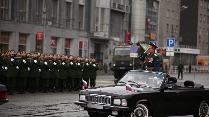 Снова перекроют: Новосибирск ждёт вторая репетиция парада