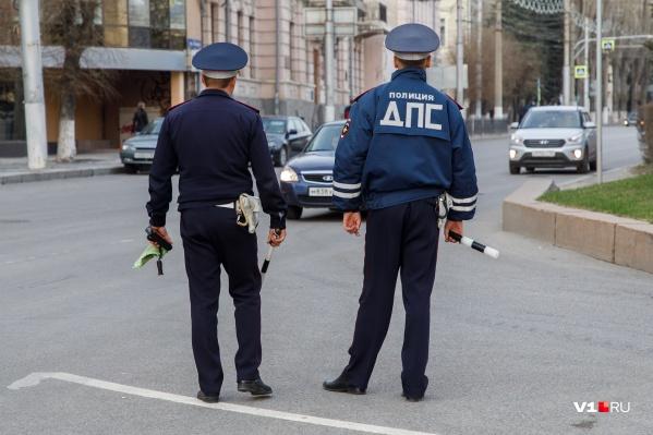 Водителя, уехавшего с места ДТП, вскоре задержали полицейские