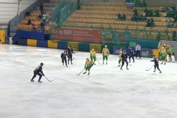 Игра состоялась сегодня утром на стадионе «Химик»