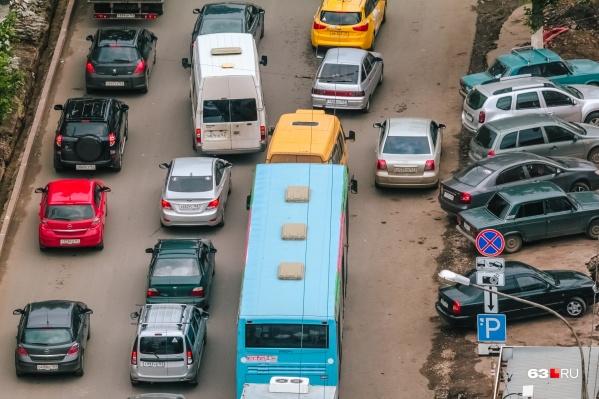Ограничения для транспорта будут действовать в старой части города