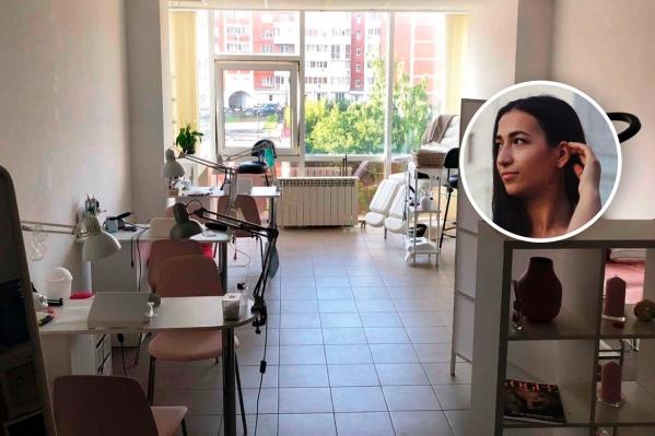 Милена открыла свою студию почти год назад