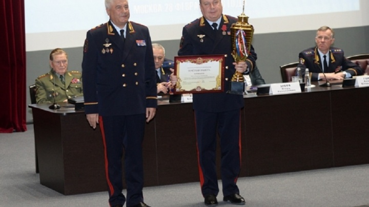 Президент Владимир Путин наградил министра МВД Башкирии