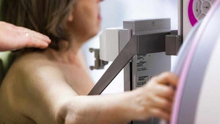 «Из 50 женщин здоровы четыре»: челябинки прошли маммографию на площади Революции