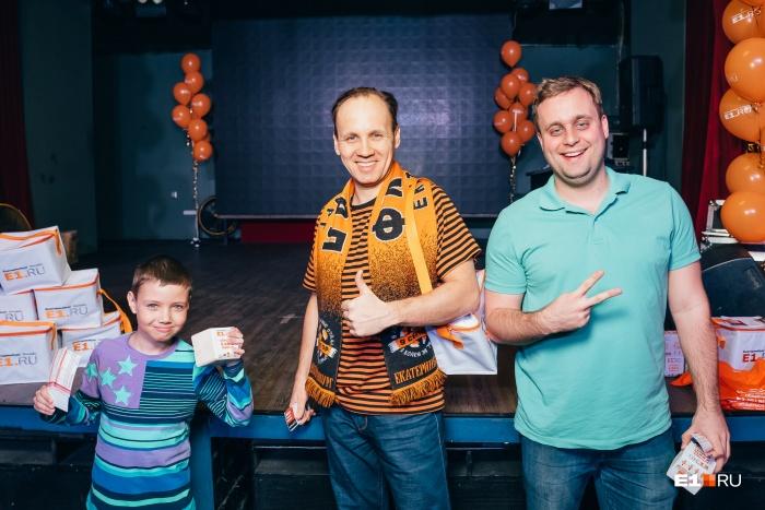 Представители команды «Фига чемпионов» от форума «Футбол»