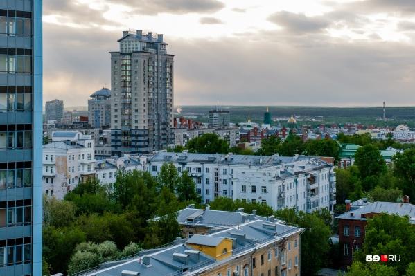 Новые дома в Перми и крае появляются, но строят меньше, чем год назад