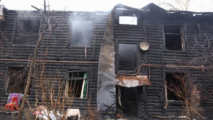 В Ярославле снесут сгоревшие дома на проспекте Фрунзе