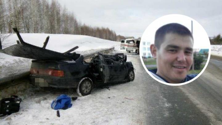 В Башкирии на больничной койке скончался водитель легковушки, которая столкнулась со скорой