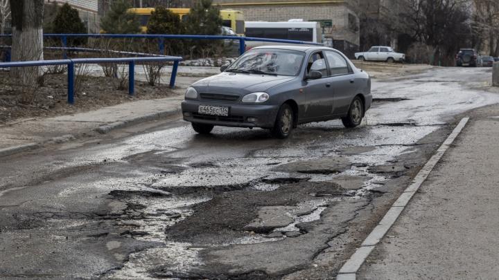 «Гетто посреди города»: волгоградцы подозревают марсианв разрушении дороги
