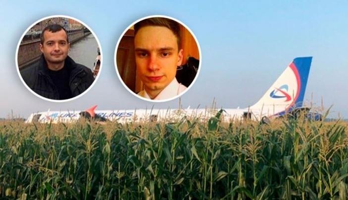 Путин присвоил звания Героев России пилотам, посадившим самолет на кукурузное поле