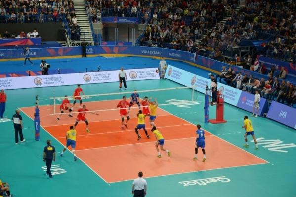 Иностранные игроки в свою очередь высоко оценили уровень «Уфа Арены»