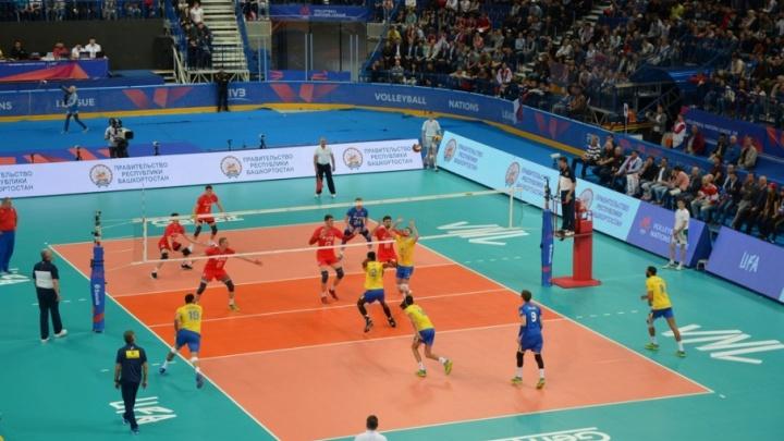 В Уфе стартовал этап международных соревнований по волейболу