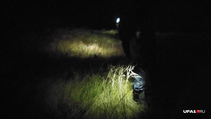 «Чувствую только ноги»: корреспондент UFA1.RU — об участии в ночных поисках годовалого малыша