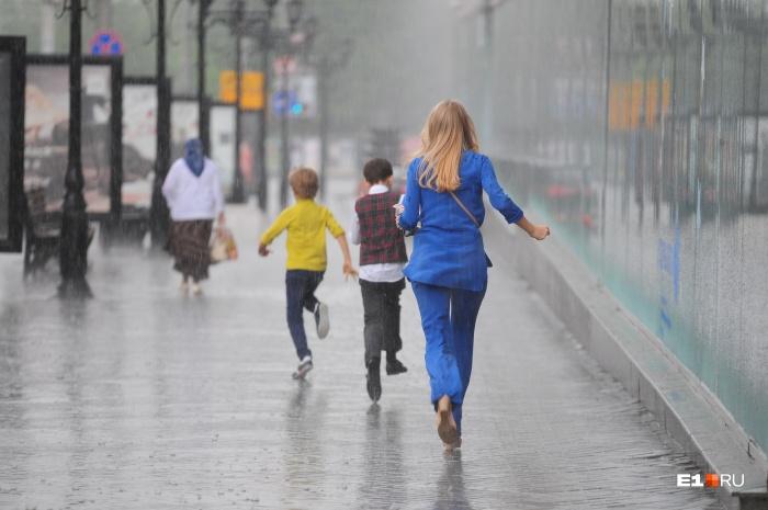 Сильные ливни придут в Свердловскую область сегодня, 18 июля