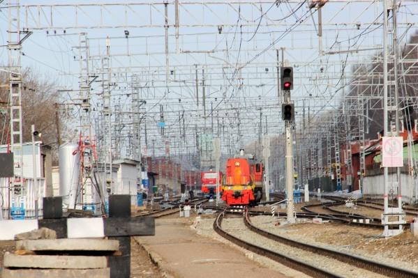 Трагедия произошла на железнодорожной станции Ергач в Кунгурском районе
